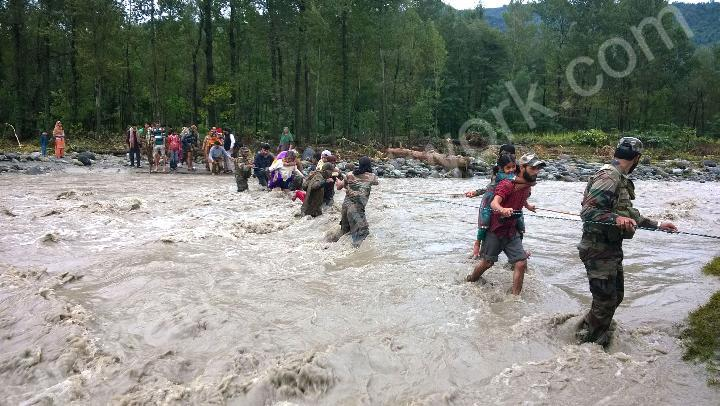 Floods wreak havoc in Jammu and Kashmir